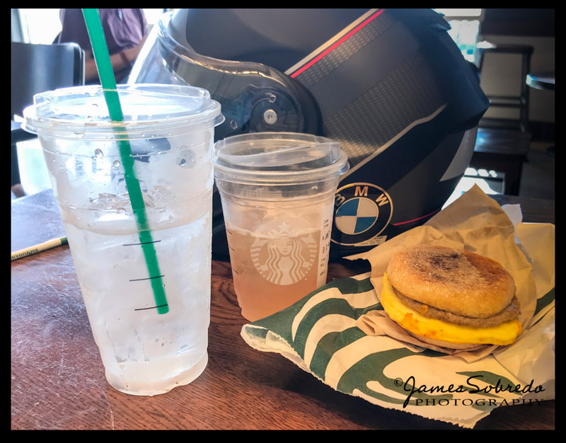 The secret that all long-distance travelers in California know: STARBUCKS is INVALUABLE to us!   Thumbs up, Starbucks!   :)